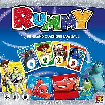 Asmodee – disrum01 – Juego de connaissances – Rummy Disney: Amazon.es: Juguetes y juegos
