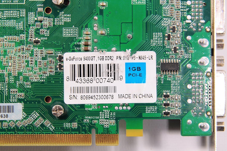 EVGA 01G-P3-N945-LR evga 01G-P3-N945 A1 GeForce 9400 GT 1GB DDR2 PCI-E 2.0 Graphics Card