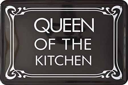 Queen of the kitchen - Funny Alemán ingeniosamente 20 x 30 ...