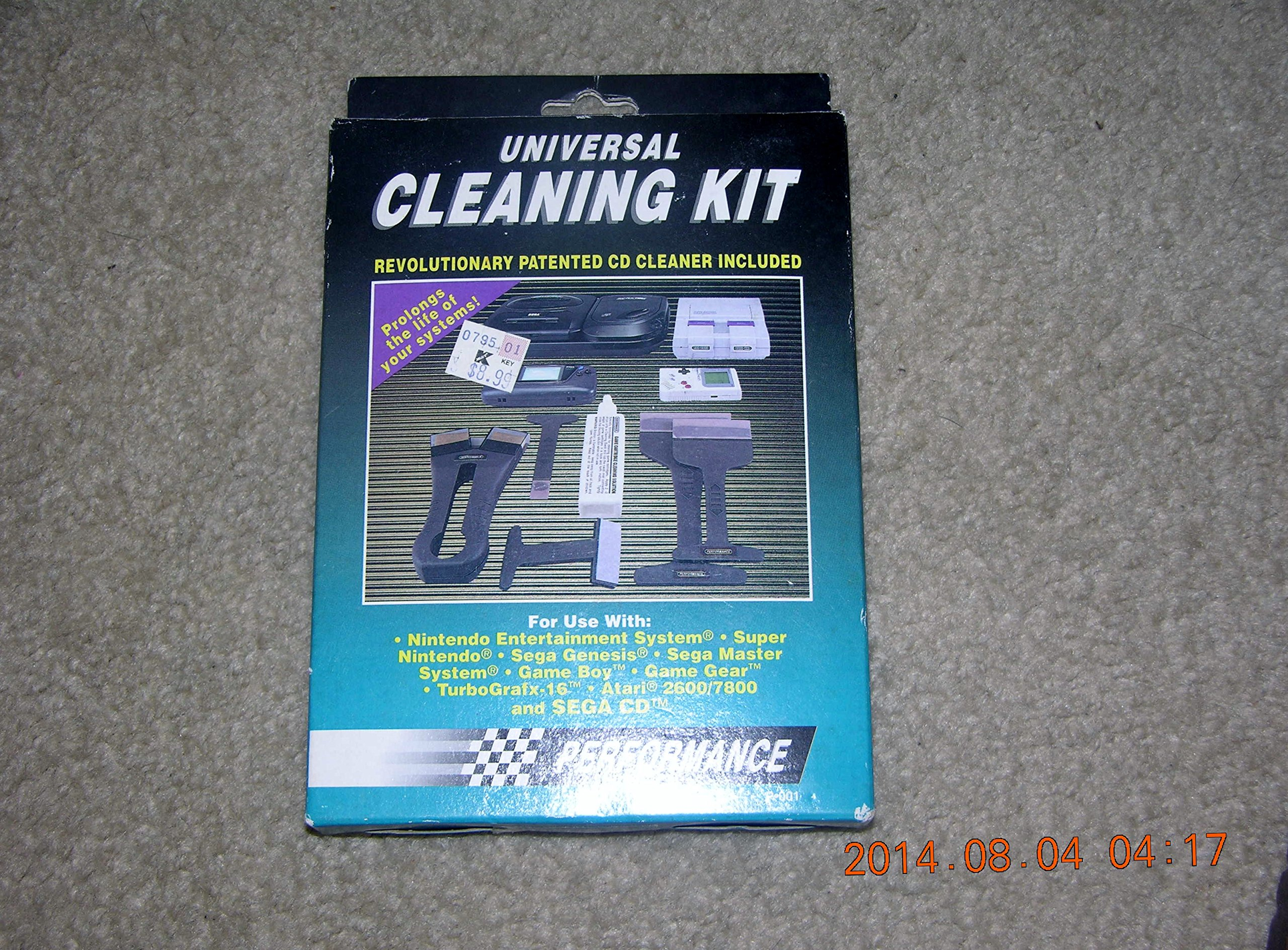 Universal Video Game Cleaning Kit