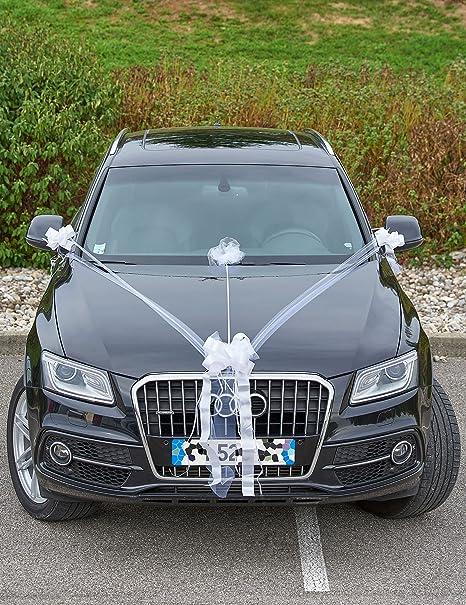 Kit decorazioni auto per matrimonio Taglia Unica  Amazon.it  Giochi e  giocattoli 07fb02e6f95