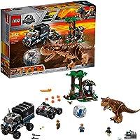LEGO 75929 Jurassic World Carnotaurus Gyrosphere Escape, Toy Dinosour, Truck, Station and Mobile Control Center Plus Owen Minifigure, Fallen Kingdom Movie Sets