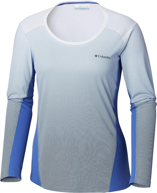 NEW Columbia Women's Solar Chill™ 2.0 Long Sleeve SHIRT S-M-L-XL