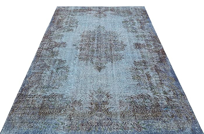 Amazon.com: Overdyed Carpet 5.67 x 8.36 ft Area Rug ...