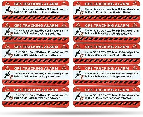 Etiqueta de alarma GPS. Netbote2. Pegatinas de advertencia en calidad premium. 75