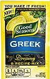 Good Seasons Vinaigrette Dressing Single Pack, Greek, .7 Ounce (Pack of 24)
