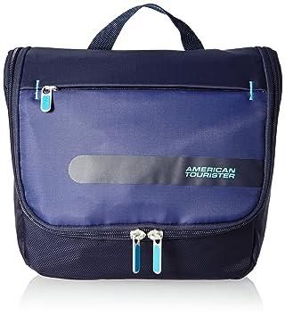 6892735fe American Tourister Herolite Hang Neceser de Viaje, 7 litros, Color Azul:  Amazon.es: Equipaje