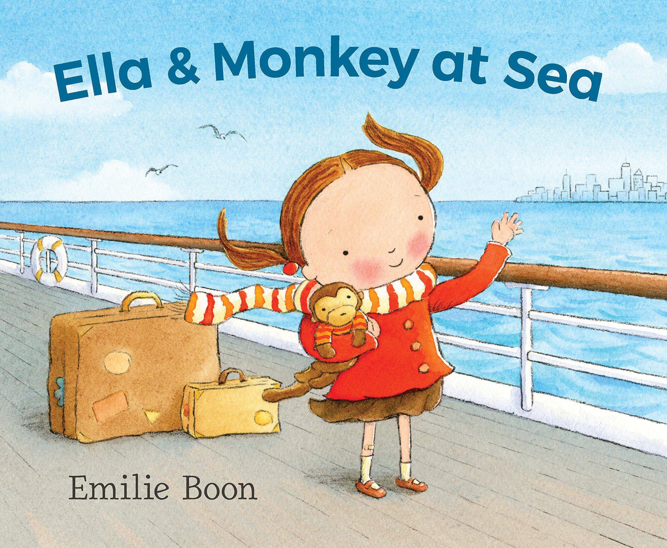 Ella and Monkey at Sea