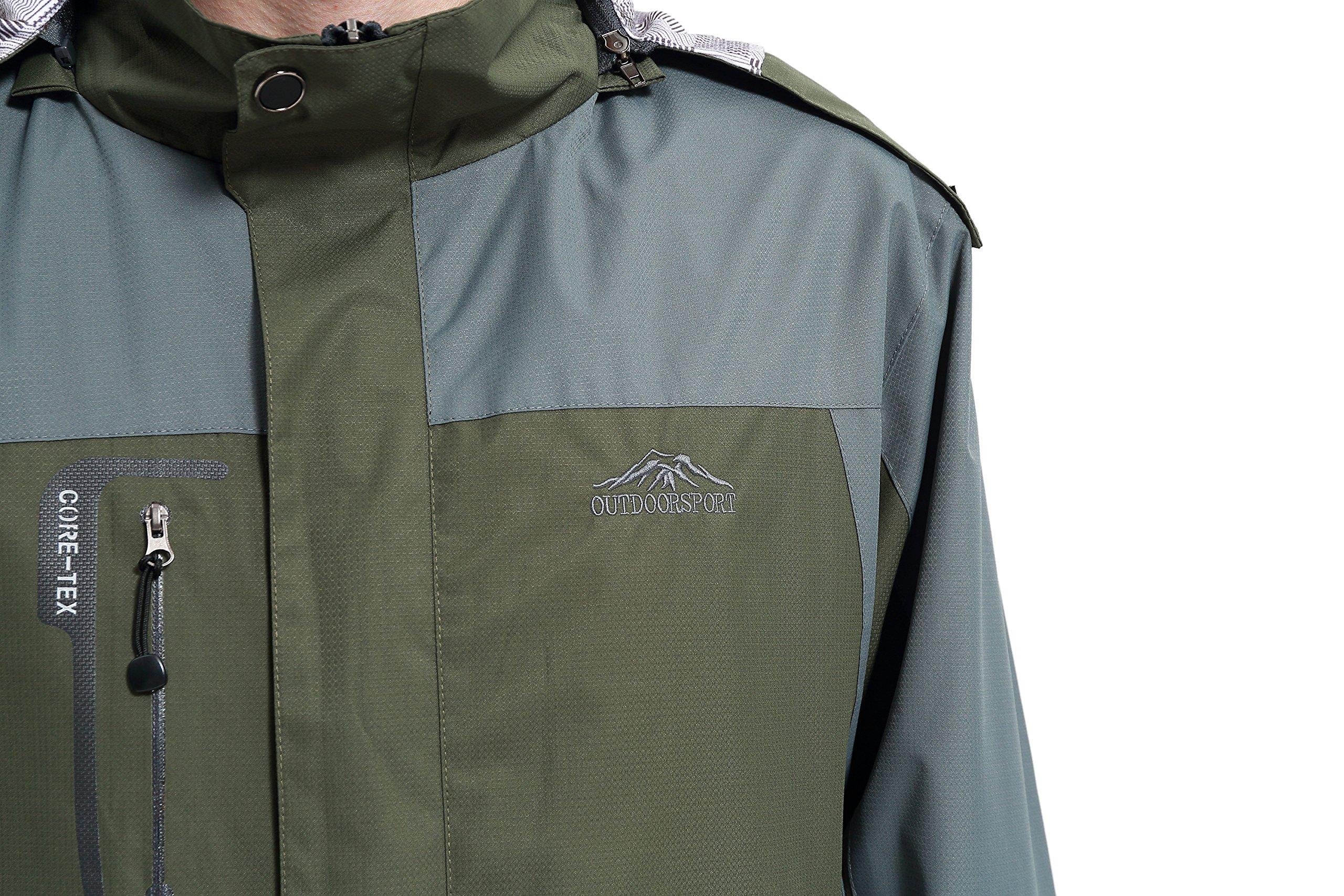 Diamond Candy men Sportswear Hooded Softshell Outdoor Raincoat Waterproof Jacket 02DGM