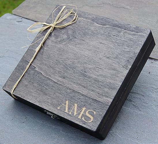 Personalized Cigar Box - Custom Cigar Box - Engraved Gift Box - Groomsman Gift Box -