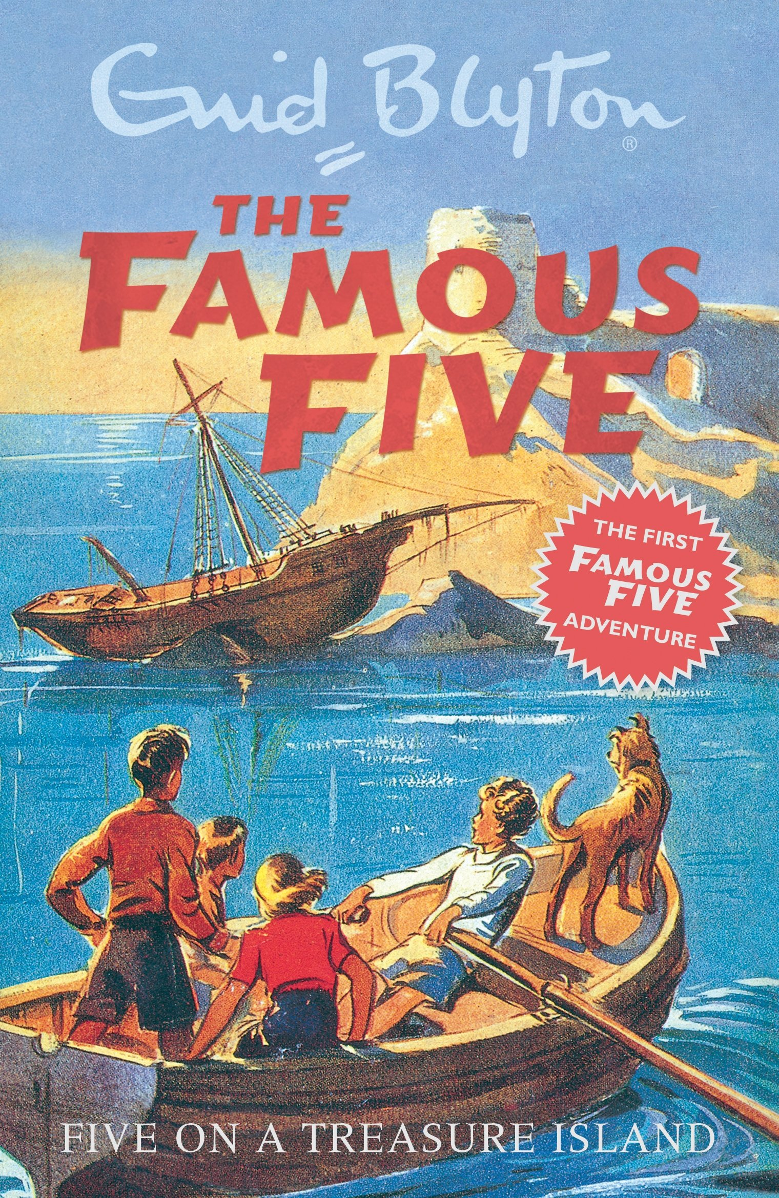 Five On A Treasure Island: Book 1 (Famous Five, Band 1)
