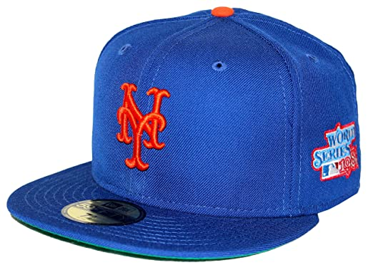 new york mets cap australia amazon baseball era world series patch blue fitted