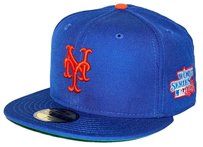 75986c296 ... inexpensive new era 59fifty 1986 world series patch new york mets blue fitted  cap 7 1 ...