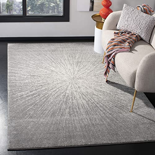 Safavieh Evoke Collection EVK228H Modern Contemporary Burst Area Rug