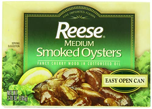 Reese Medium Smoked Oysters Review