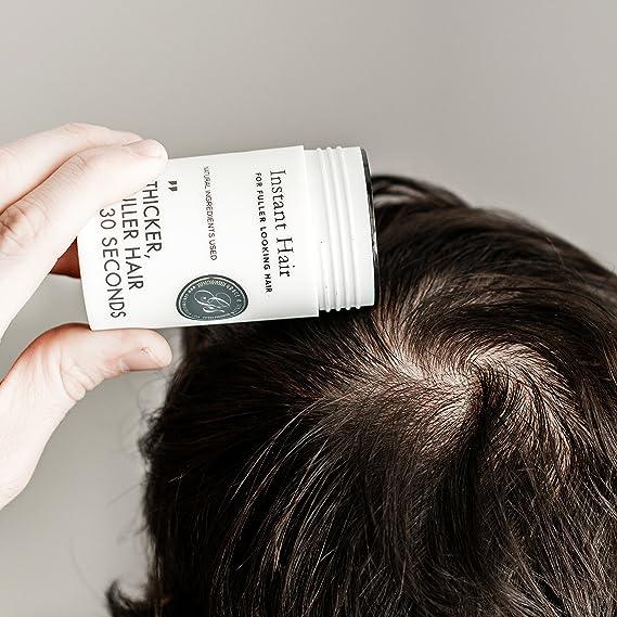 Grace & Stella Co. Tratamiento de pérdida de cabello instantánea para hombres y mujeres - las fibras de queratina construcción de cabello Un ...