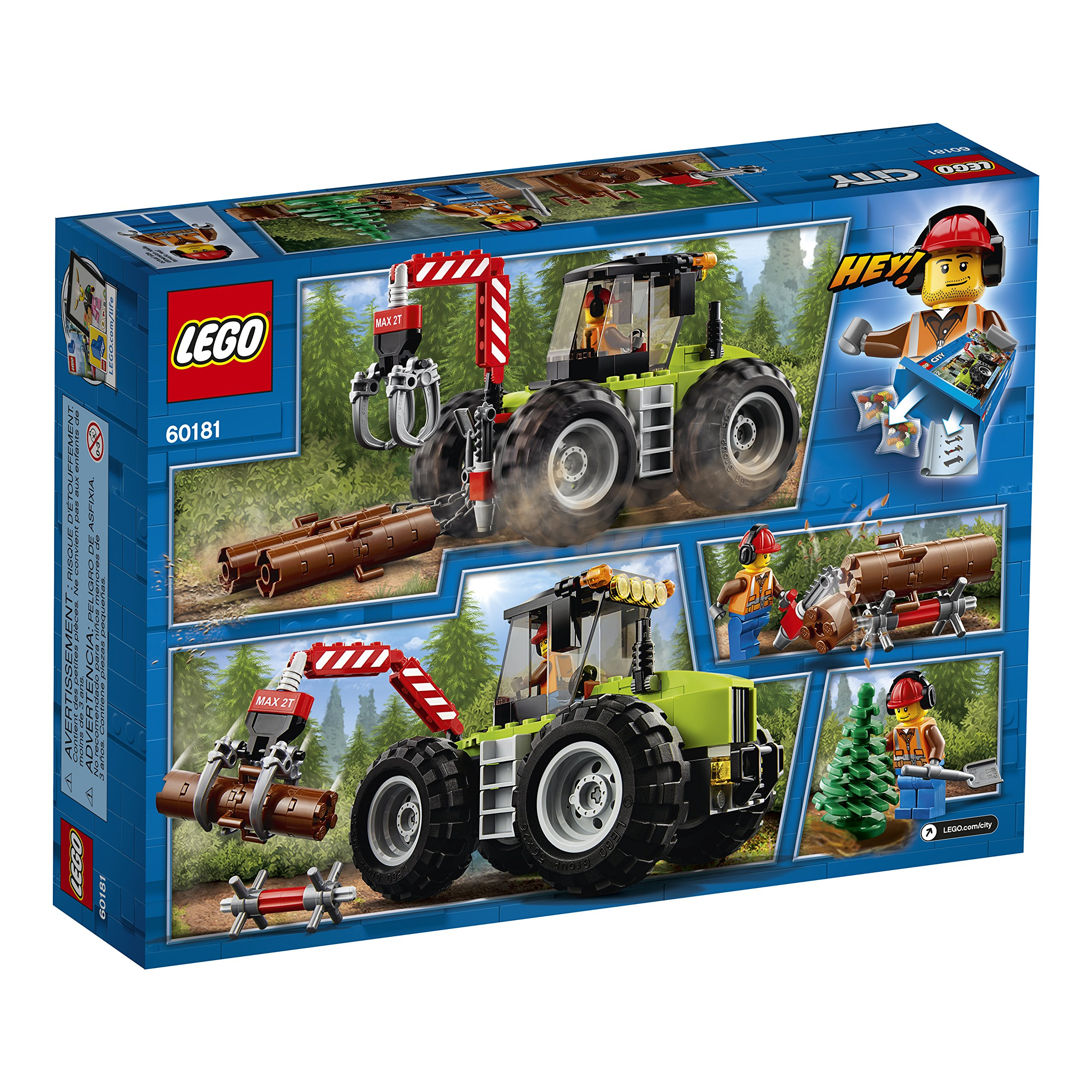 LEGO City Forest Tractor 60181 Building Kit (174 Piece) by LEGO (Image #5)