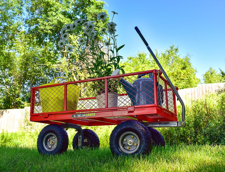 Gorilla Carts GOR800-COM Steel Utility Cart