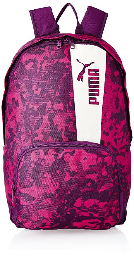 0bb95fcddf26 Puma 21 Ltrs Dark Purple-Love Potion-Marshmallow-Graphic Laptop Backpack  (7473904)  Amazon.in  Bags