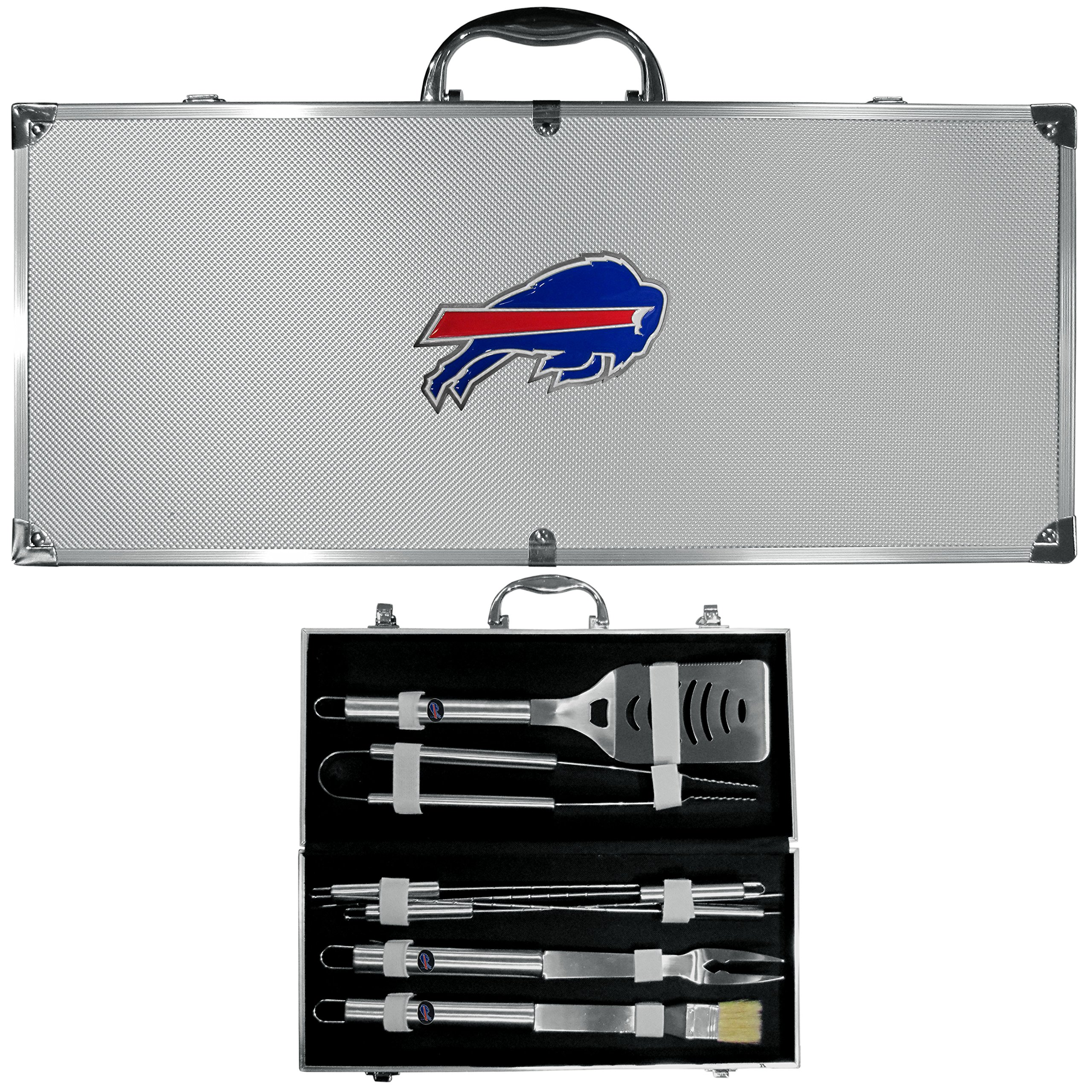 Siskiyou NFL Buffalo Bills 8-Piece Barbecue Set w/Case