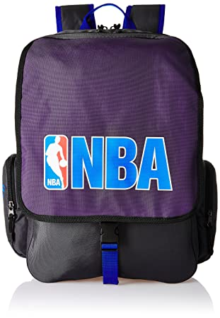 American Tourister Purple Casual Backpack  Dribble NBA Backpack_8901836116809  Casual Backpacks