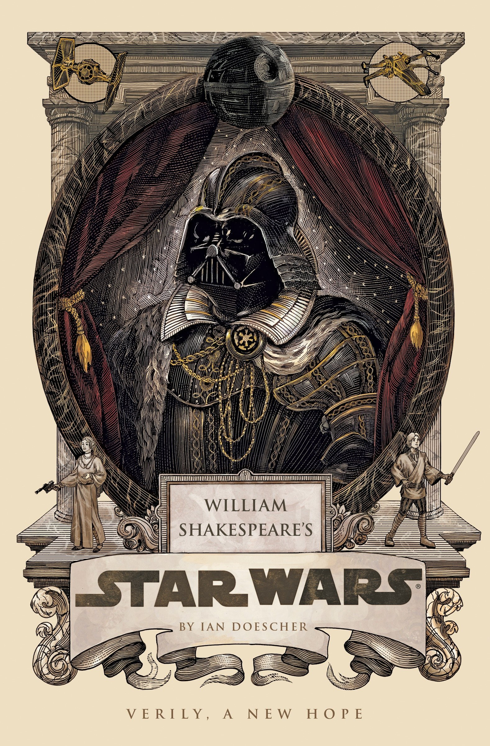 db165d8a Amazon.com: William Shakespeare's Star Wars (8601200654059): Ian Doescher:  Books