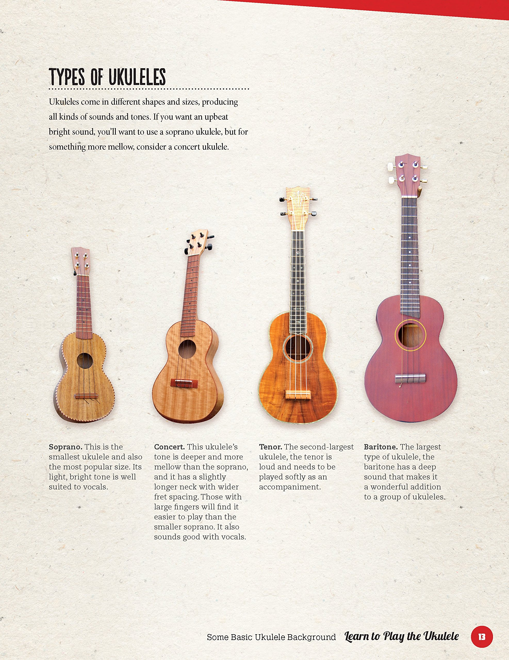 amazon com learn to play the ukulele a simple and fun guide for