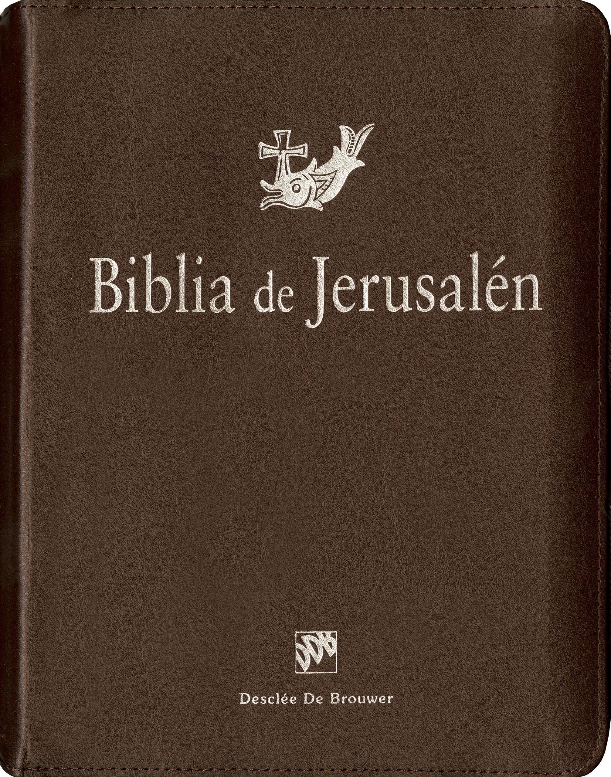 Biblia de Jerusalén: manual con funda de cremallera (Spanish ...