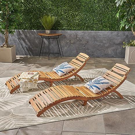 Amazon.com: Juego de 2 sillas plegables para exteriores de ...