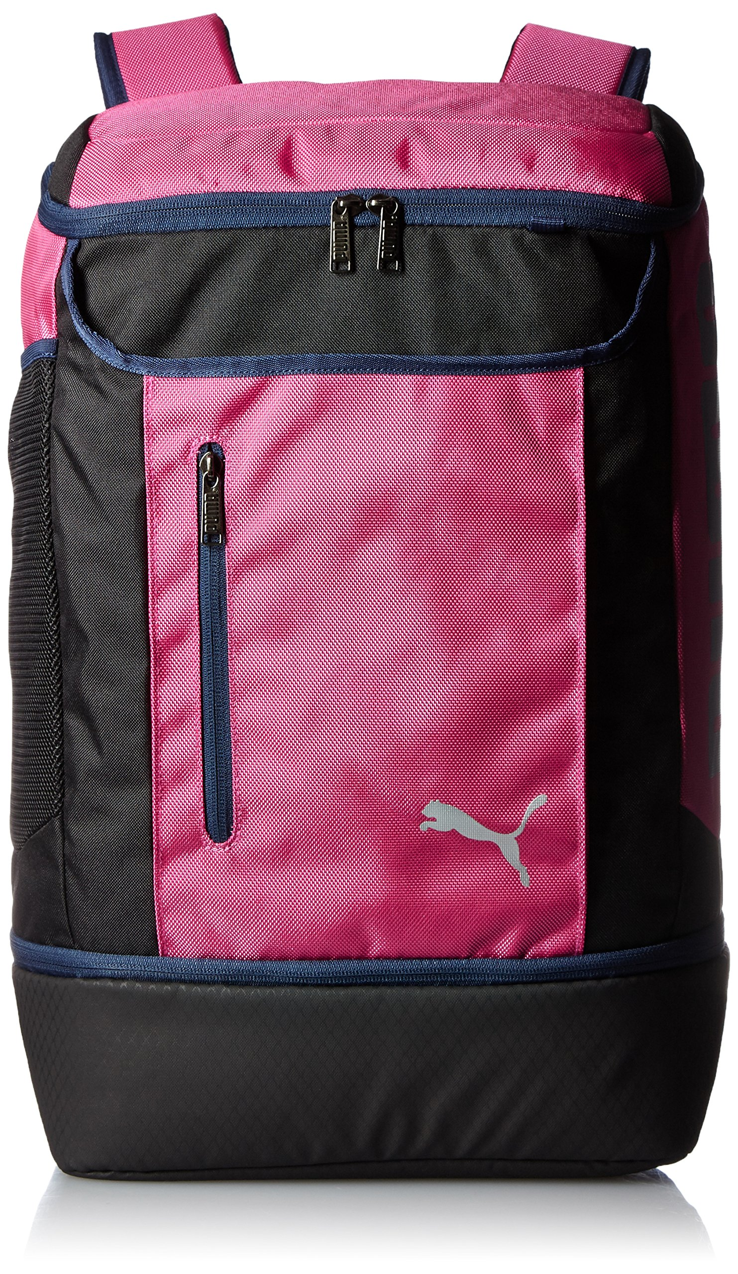 PUMA Backpack Active J SQ Backpack (Fusia Rose/Pea Coat)