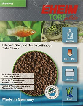 Eheim aeh2511051 Torf Pellets Medios de Filtro para Acuario, 1-Liter: Amazon.es: Productos para mascotas