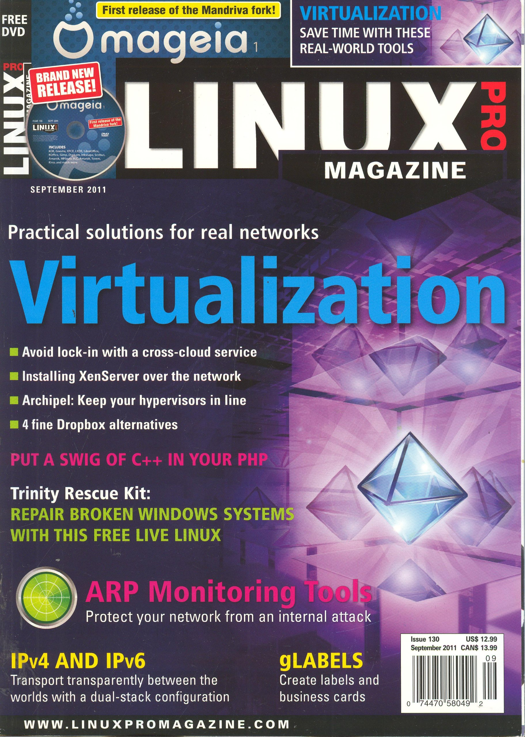 Linux Pro Magazine Issue 130 September 2011: Joe Casad