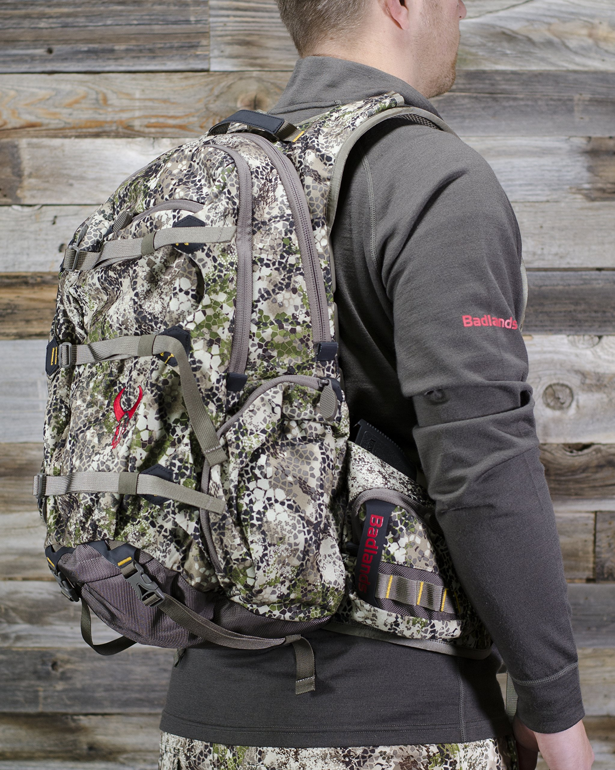 Badlands Superday Camouflage Hunting Backpack - Bow, Rifle, and Pistol Compatible, Approach Camo by Badlands (Image #4)
