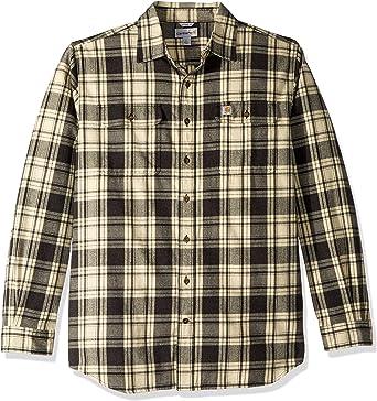 Carhartt Camisa de franela de cuadros grandes y altos Hubbard para hombre: Amazon.es: Ropa y accesorios