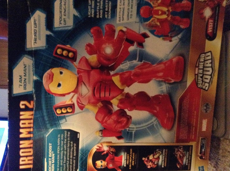 Iron Man 2 Mega Power - Figura de acción Rocket Boost [Importado de Reino Unido]