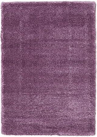 CarpetVista Tapis Shaggy Sadeh - Violet 140x200 Tapis Moderne