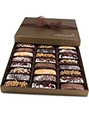 Barnetts Biscotti Cookies Gift Basket Christmas Gourmet Holiday Chocolate Food Unique Idea For Him