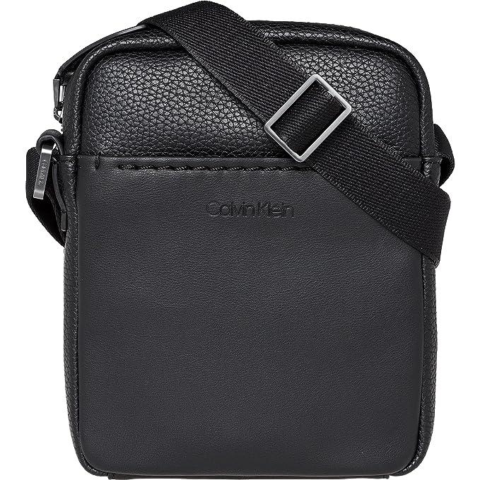965d425769 Calvin Klein Jeans Multi Task Mini P Reporter - Borse a spalla Uomo, Nero (