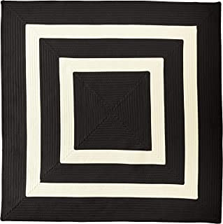 product image for La Playa Rugs, 10' x 10' Square, Black & White