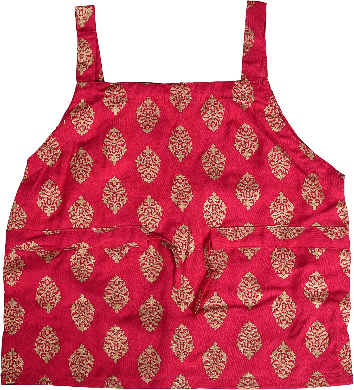 Lehenga Choli Top /& Skirt Set For Baby Girls DIAMO Baby Girls Traditional Rayon Ethnic Traditional Occasion Block Print