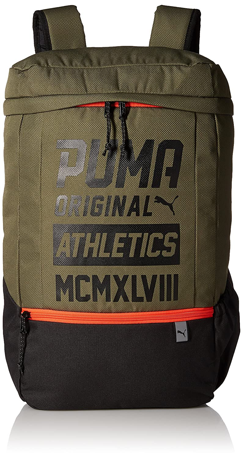 76d609c0c349 Puma 24 Ltrs Olive Night-Black Laptop Backpack (7482703)  Amazon.in  Bags