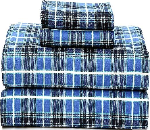 Amazon Com Ruvanti 100 Cotton 4 Piece Flannel Sheets Queen Deep Pocket Warm Super Soft Breathable Flannel Bed Sheets Set Queen Include Flat Sheet Fitted Sheet 2 Pillowcases
