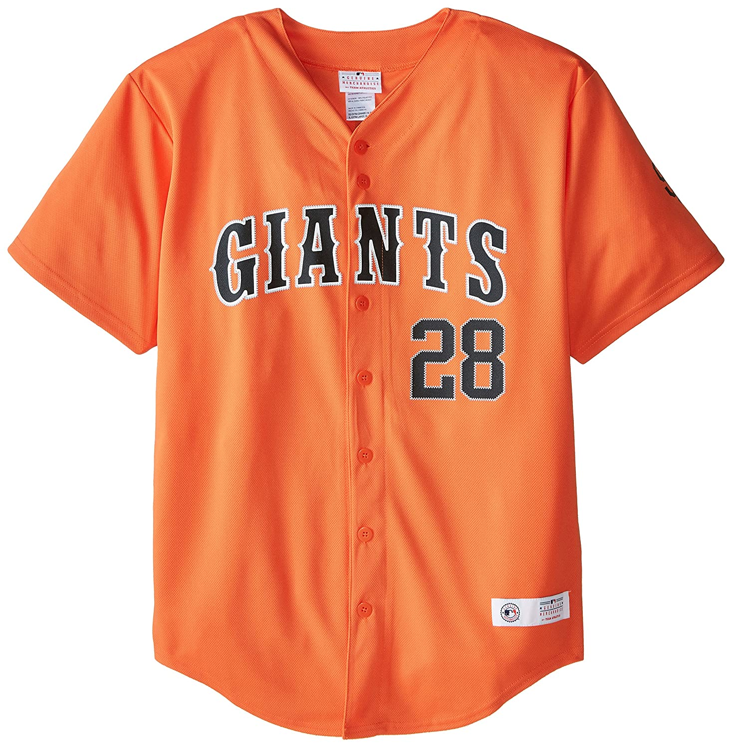 562625d78 Amazon.com   MLB San Francisco Giants Youth Boys Buster Posey Home Run  Jersey