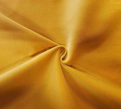 Amazon Com Quality Yellow 100 Cotton Velvet Velour Fabric For