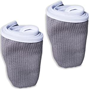 Fitness Gym Towels (2 Pack) for Workout, Sports and Exercise - Soft, Lightweight, Quick-drying, Odor-free - by desired body