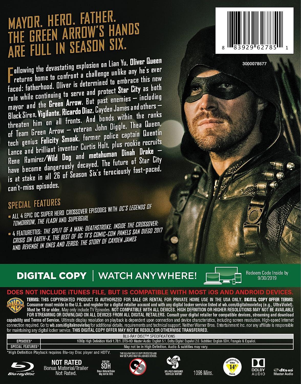 Amazon com: Arrow: The Complete Sixth Season (BD) [Blu-ray