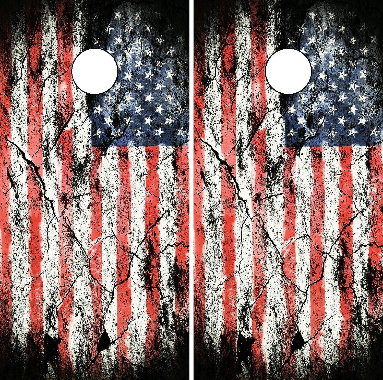 Make America Great Cornhole Board Wrap LAMINATED Wrap Decal Vinyl Sticker 3719