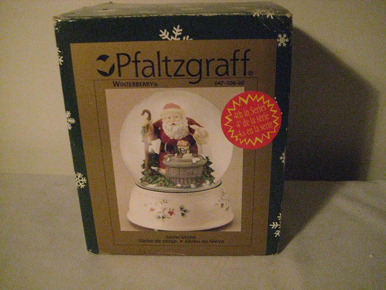 ブランド品専門の Pfaltzgraff Winterberry Pfaltzgraff Snow Snow Globe Globe B008FXR52U, 余市町:59c34ab3 --- irlandskayaliteratura.org
