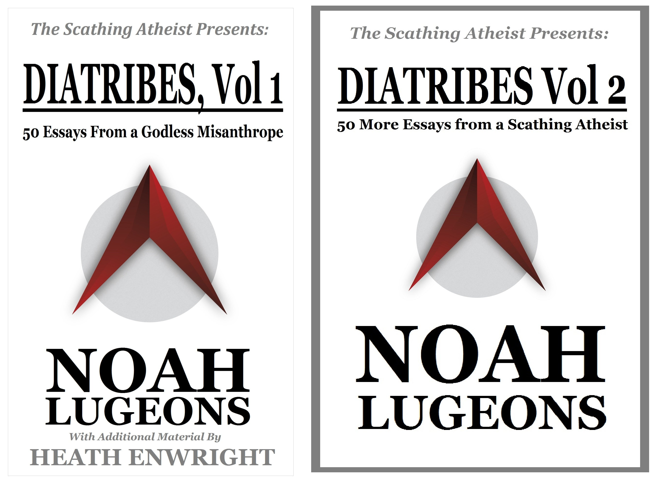 The Scathing Atheist Presents (2 Book Series)