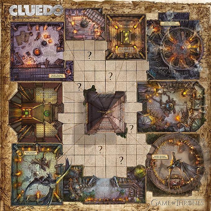 Winning Move Cluedo Mystery - Juego de Tronos, [Inglés ]: Amazon ...